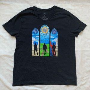 Supernatural black tee shirt Hanes 100% cotton L